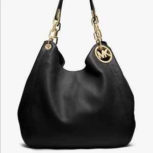 Michael Kors Black Fulton Bag